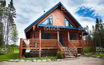 Проект дома из бревна № 1