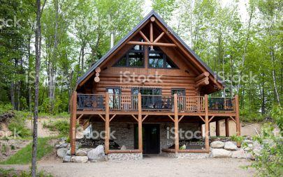 Проект дома из бревна № 3